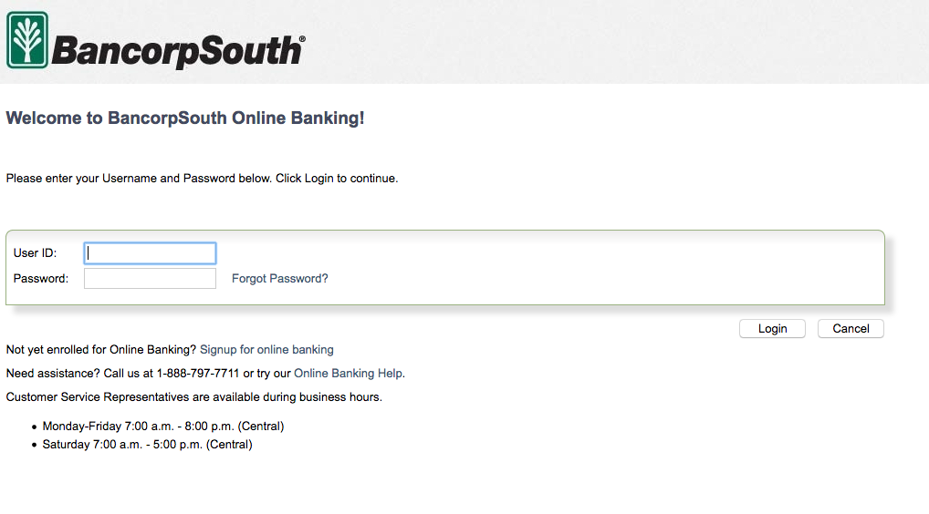 bancorpsouth-bank-online-banking-login