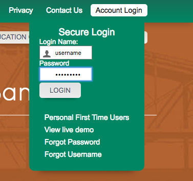 first bank yuma secure login page