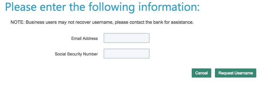 1st bank yuma forgot password