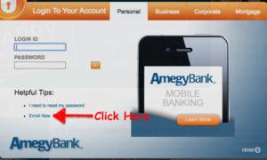 amegy bank online registration