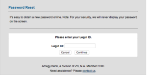 amegy bank online login
