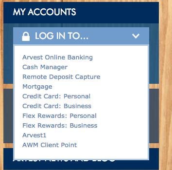 Arvest Online Banking Bank Login |
