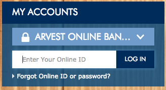 Arvest Bank Login