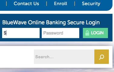 Bank of Blue Valley login