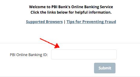 Pbi online banking