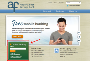 altoona-first-savings-bank-login