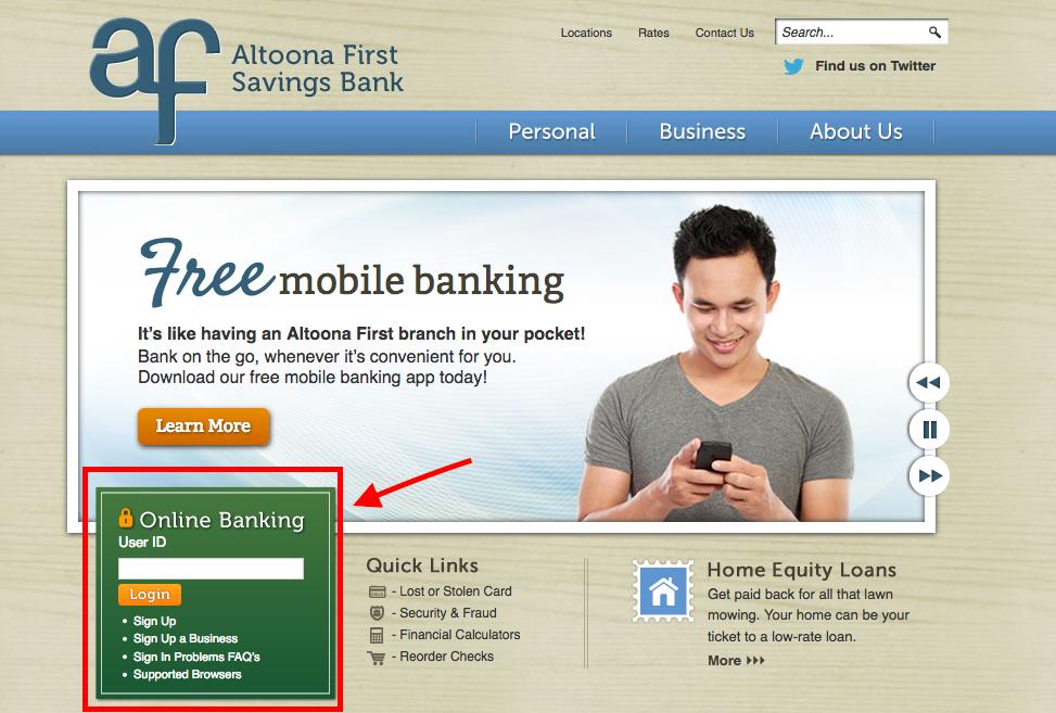 altoona-first-savings-bank-login