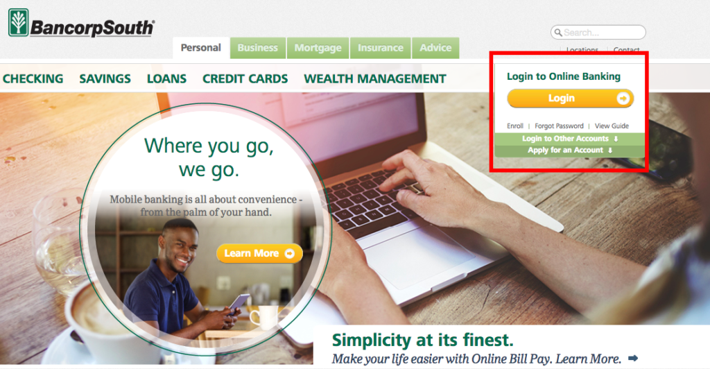 bancorpsouth-bank-login