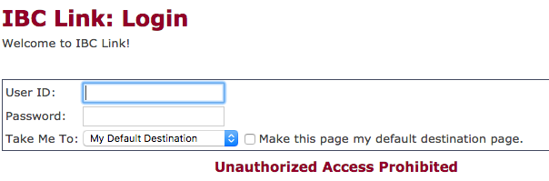 IBC bank online login