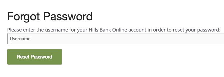 Hills bank online banking