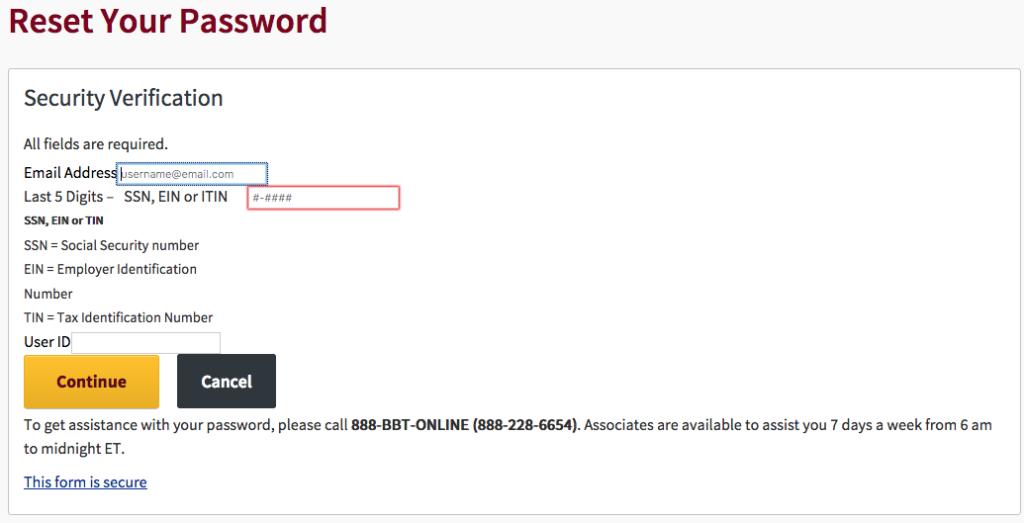 bbt-bank-reset-password