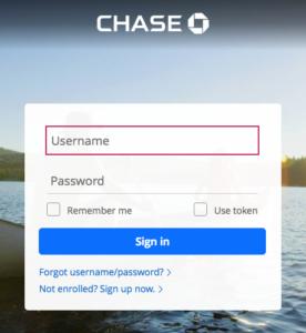 chase.com login