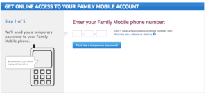 Walmart My family mobile add number