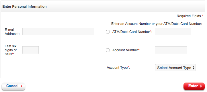 BMO Harris Bank user id reset