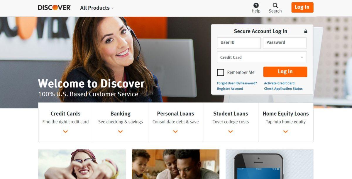 Discover bank Online Bank Login