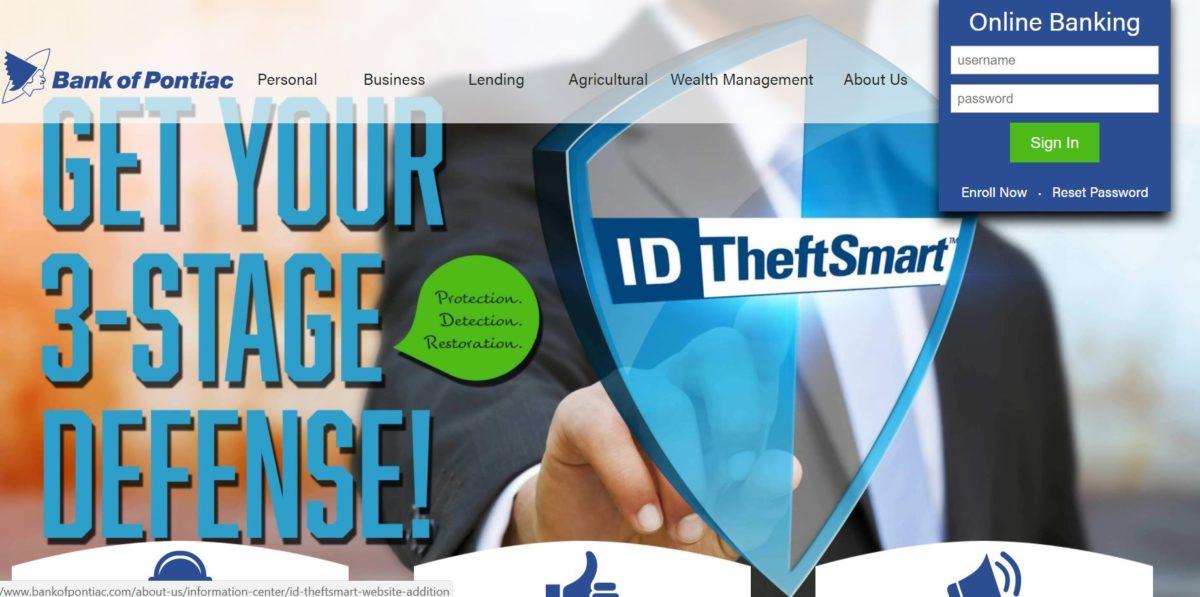 Bank of Pontiac online Banking