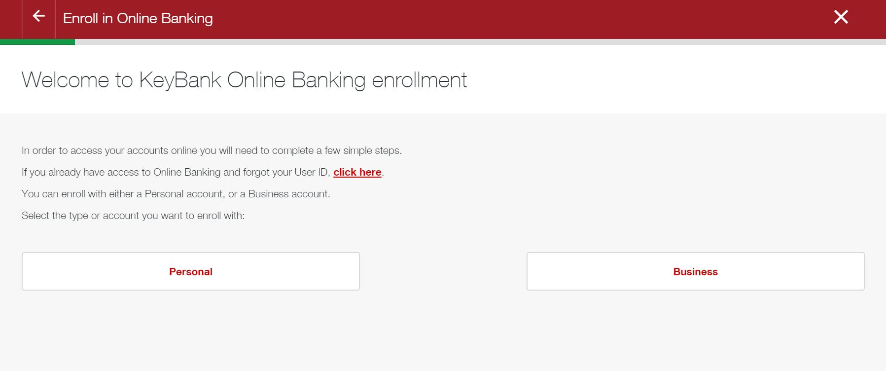 Key Bank online bank login |