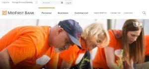 midfirst bank online login