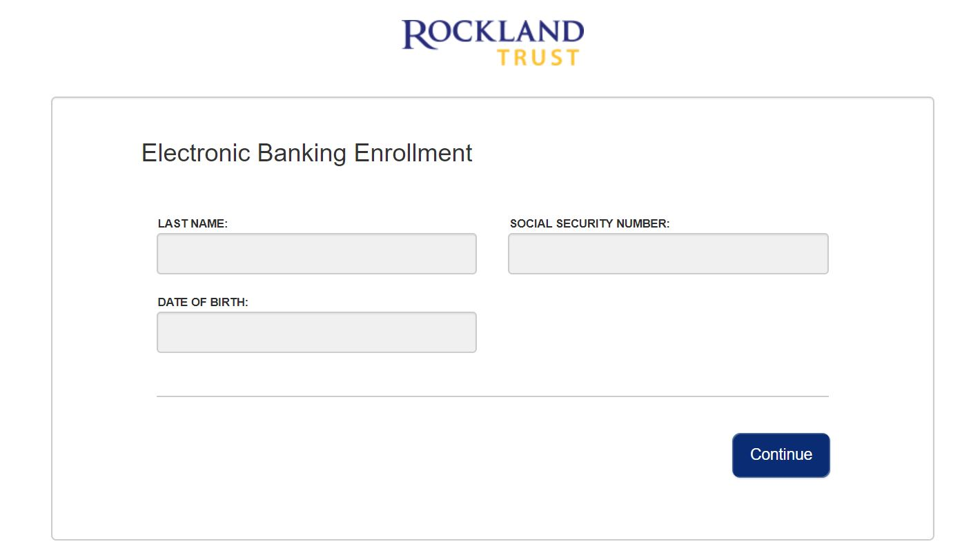 rockland trust bank online banking
