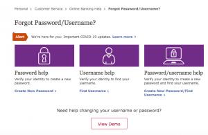 wells fargo forgot password